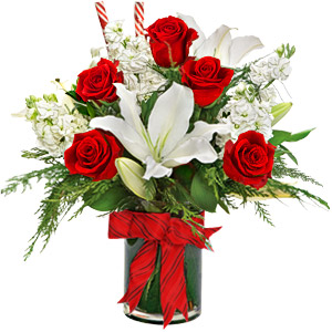 Candy Cane Arrangement ShopFest Money Saver