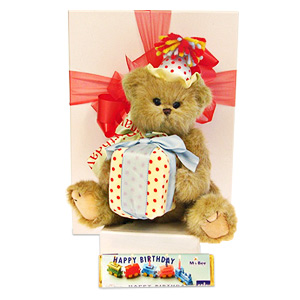 Bobby The Birthday Bear
