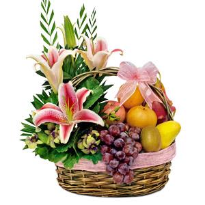 Image of Sparkling Fruit Basket