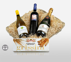 Fine Wine Basket