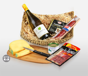 Delectable Hearty Hamper