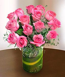 Irresistible Pink Roses