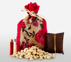Healthy Cashews With Rakhi