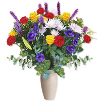 Colourful Mixed Arrangement by Flora2000