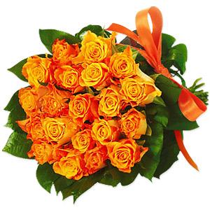 Orange Rosita 20 Orange Roses