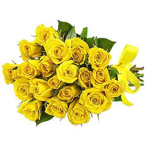 Yellow Rosita 20 Yellow Roses