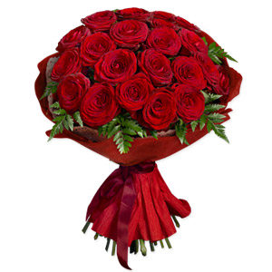 20 Red Rose Gift Wrap