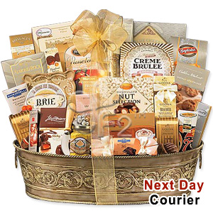 The Perfect Office party Gift Basket